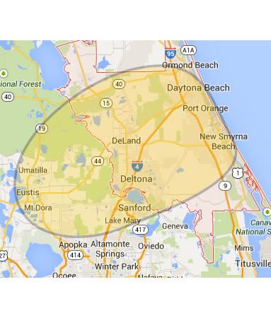 Deland map