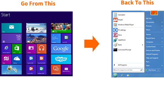 How to get Windows 8 Start Button