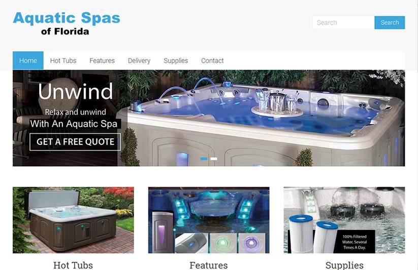 quality web site design for deland florida