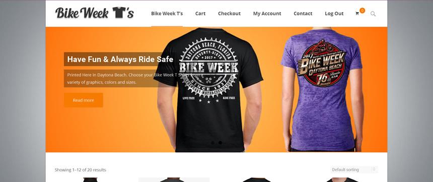 website design example, recent